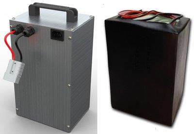 Lithium Polymeer accu 48Volt (LiPo) universeel voor elektrische scooter, 48V 20AH scooteraccu, scootmobiel